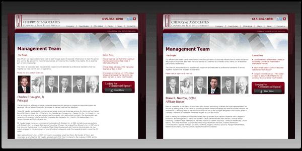 Custom Digital Creative Design for Commercial Real Estate Management Team