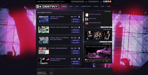 Destiny Events _ Events