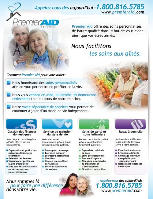 salessheet_Premier_aid_french_sample