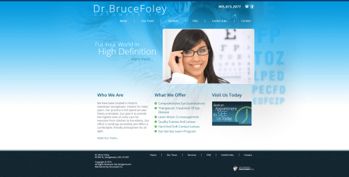 Dr. Bruce Foley   Optometrist _ Homepage