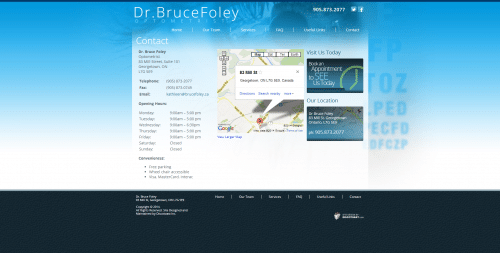 Dr. Bruce Foley _ Contact