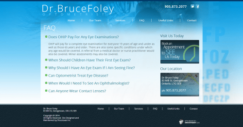 FAQ   Dr. Bruce Foley
