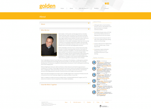 Golden Venture Partners _ About