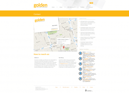 Golden Venture Partners _ Contact