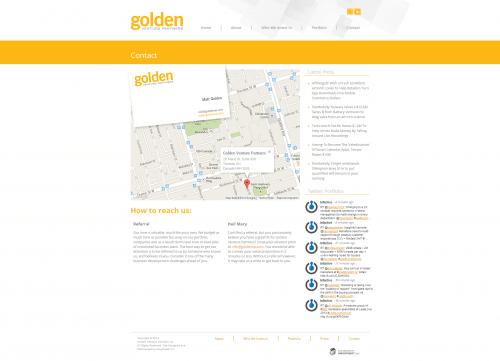 Golden Venture Partners _ Contact