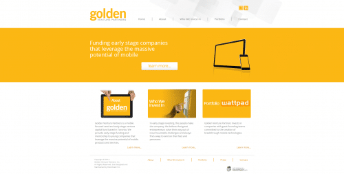 Golden Venture Partners _ Homepage