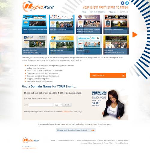 Software Products   Website Design   Hughesware