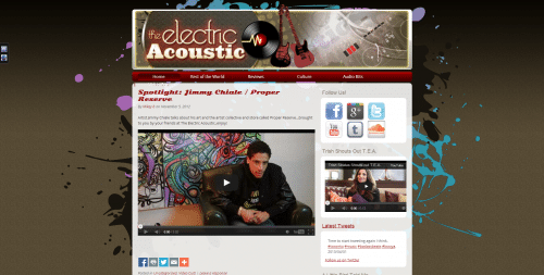 The Electric Acoustic _ Homepage