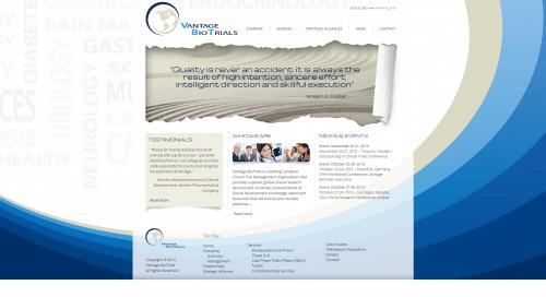 Vantage BioTrials _ Homepage