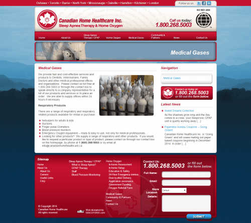canadian home healthcare _ Medical Gases