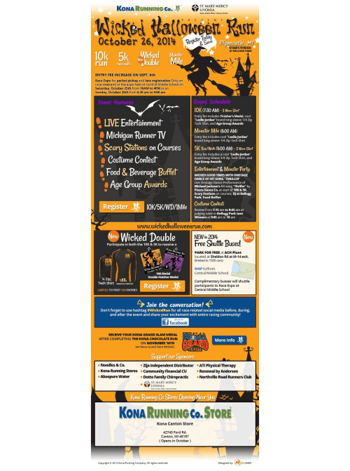 Wicked Run eMail Blast Template