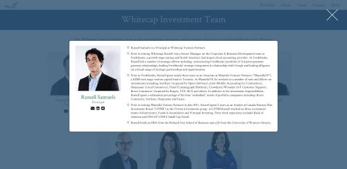 Whitecap Venture Partners   team