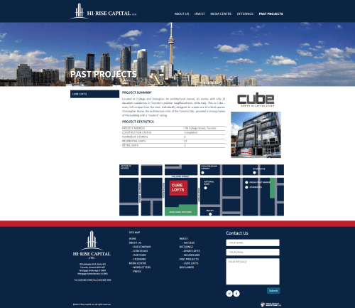 Cube Lofts Hi Rise Capital Ltd.