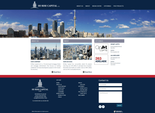 Home   Hi Rise Capital Ltd homepage