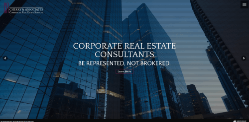 Home  Cherry  and Associates Commercial Real Estate Web Design