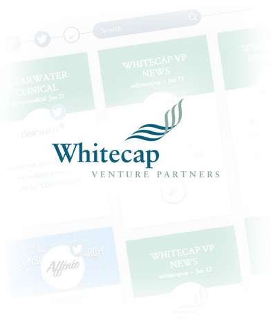 2017 Wordpress Design Portfolio- WhiteCap Venture Partners Featured Portfolio Image