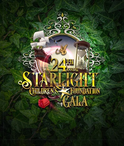 2019 Graphic Design- Starlight Childrens Foundation Annual Gala