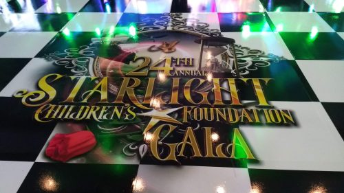 Starlight Childrens Foundation Gala 2019 Signage 2 - Creative Design Portfolio Disotoast